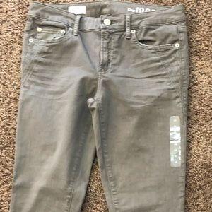 NWOT Grey Gap jeans